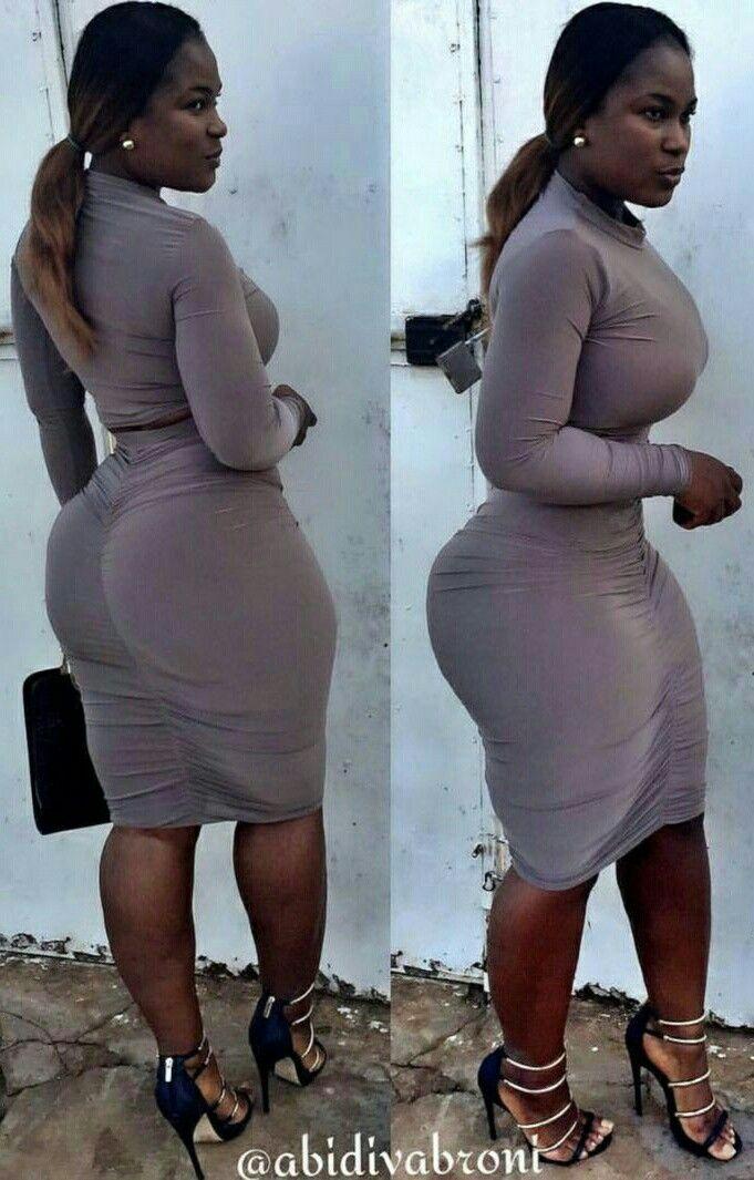 Iso Musta Ebony Butt