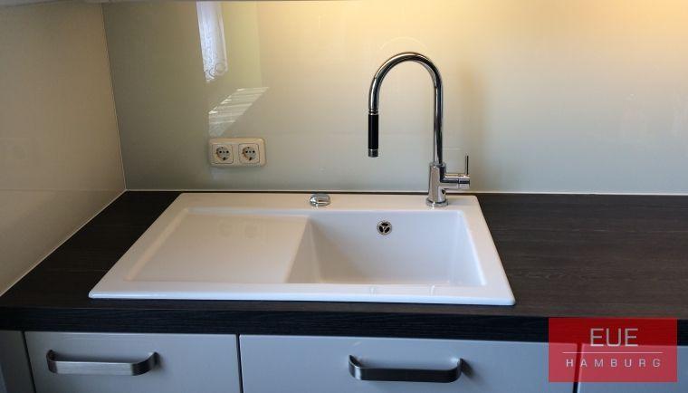 Keramikspüle Subway 45 Becken rechts - spülbecken küche günstig