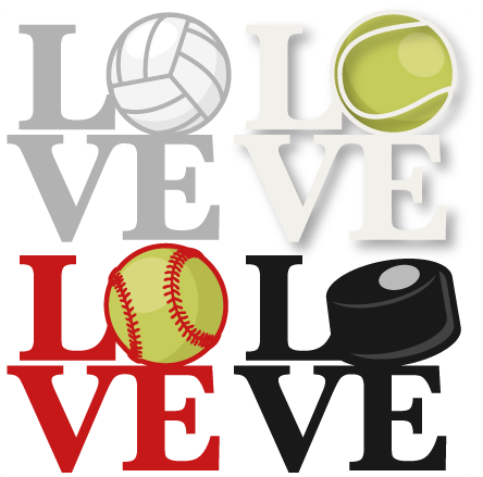 love sports titles svg scrapbook cut file cute clipart clip art rh pinterest com scrapbooking clip art free scrapbooking clipart jungle free