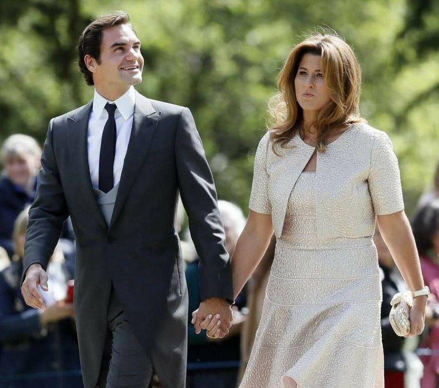 Roger And Mirka Federer Pippa Middleton Wedding Mirka Federer Roger Federer