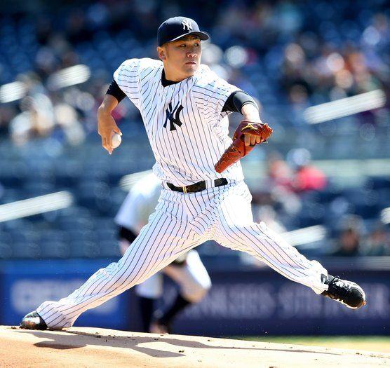 Masahiro Tanaka Yankees Tame Cubs 3 0 Fantasy Baseball New York Yankees Game Yankees