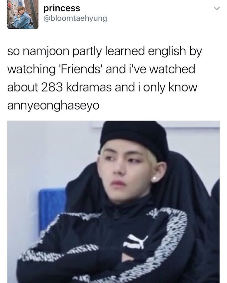 Aigoo I Really Have To Be Like Namjoon I Wanna Learn Korean Bts Memes Kpop Memes Bts Kpop Memes