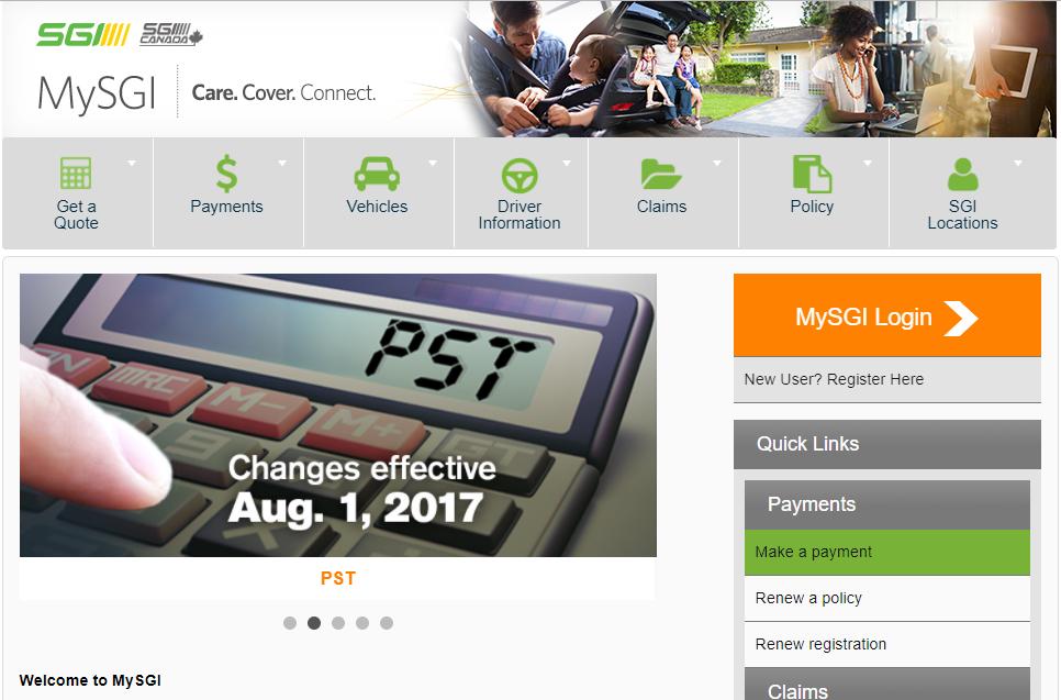 Mysgi Online Services Is A A Convenient Way To Access Sgi And Sgi