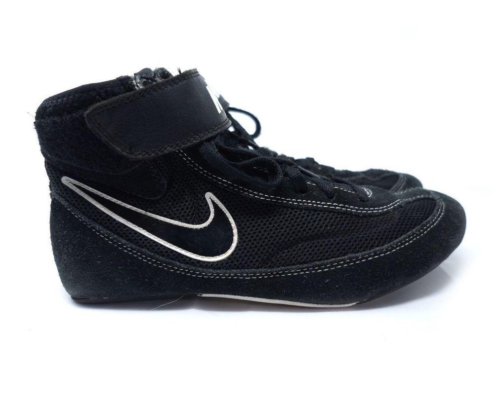 finest selection 6a37d 7e31f Nike SpeedSweep VII Wrestling Shoes 366683 Men Size 6.5 Black   eBay