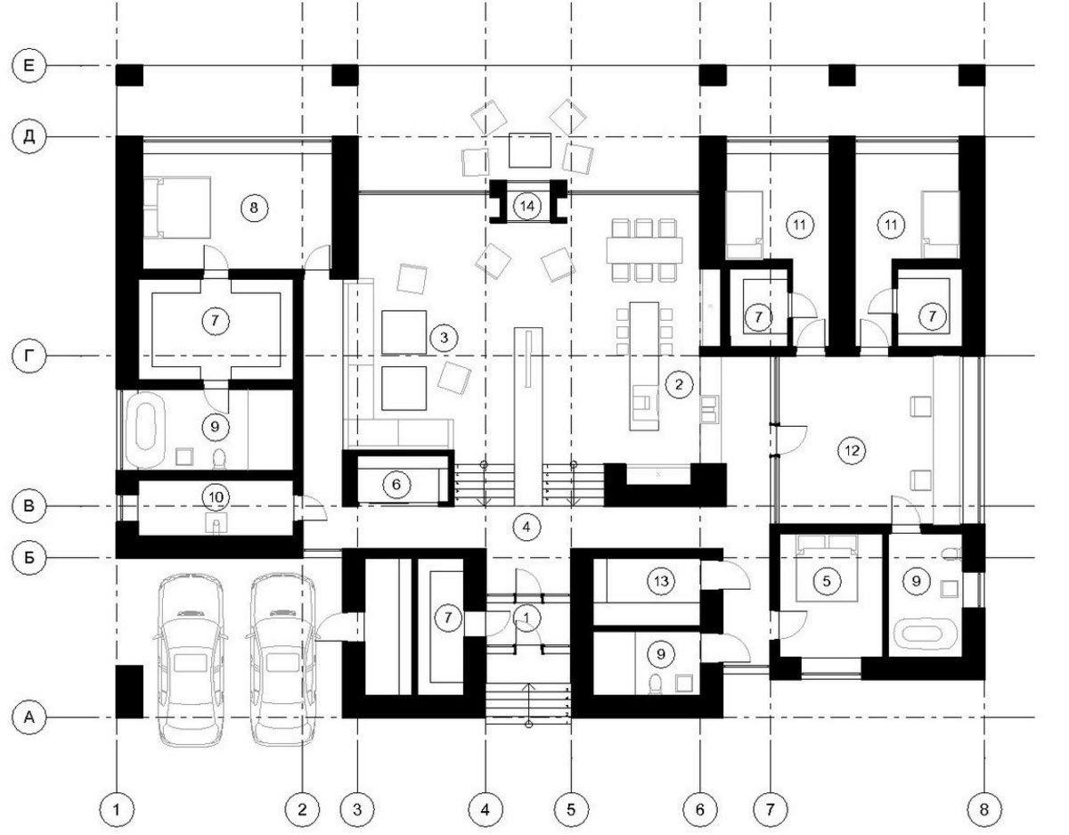 Casa de un piso construida en 390 metros cuadrados, hermosa ...