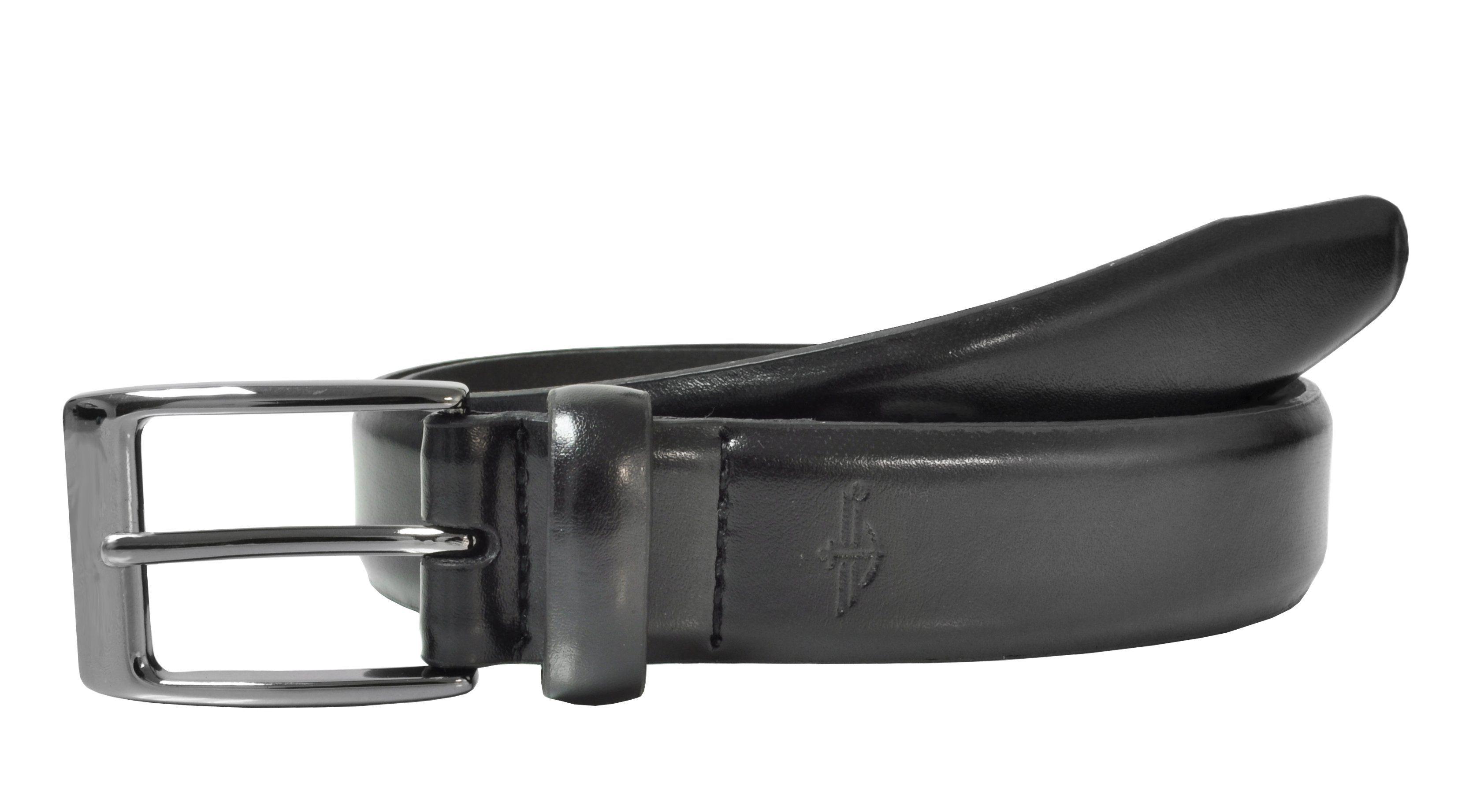 Dockers Men's Leather Feather Edge 1 1/4 Inch Dress Belt