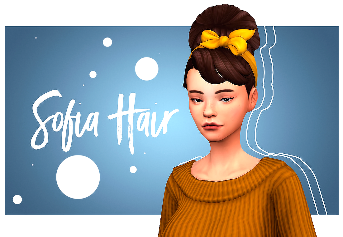 Sofia Hair Cats And Dogs Hair Edit Bgc Comes Will All Ea