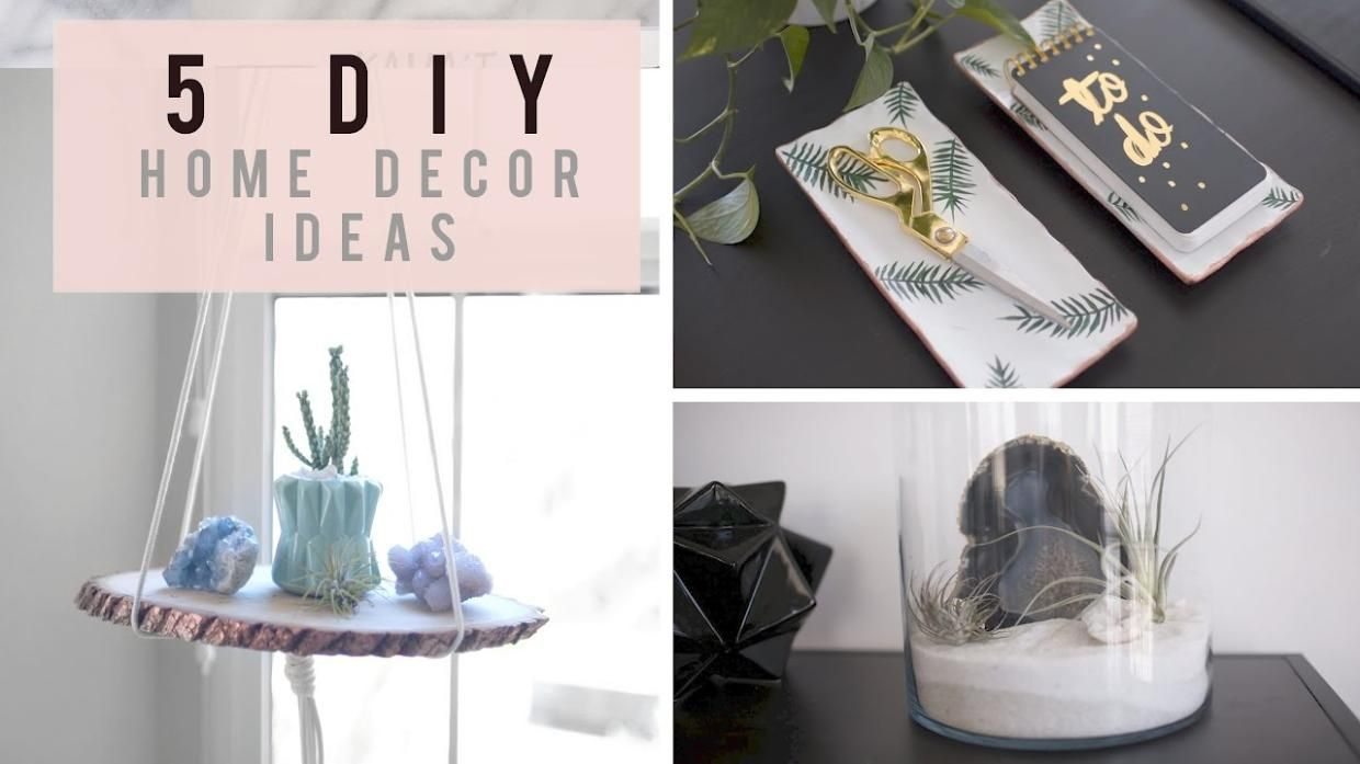 5 DIY Home Decor Ideas for Spring/Summer | ANN LE | Clever Craft ...