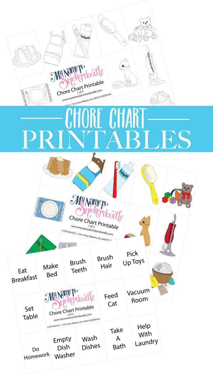 Chore Chart Tutorial  Parents Kids Charts And Babies