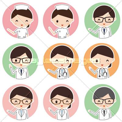アイコン 医者 看護婦 薬剤師の写真 イラスト素材 Xf3375143913 ペイレスイメージズ 医療イラスト 男性 かわいい 薬剤師