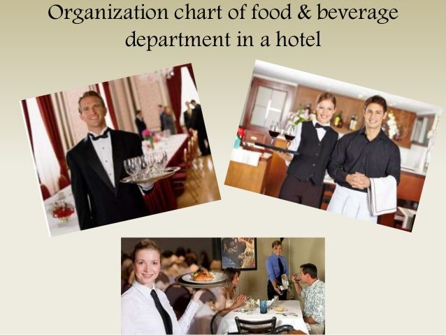 Organization chart of food \ beverage department in a hotel fbs - organization chart