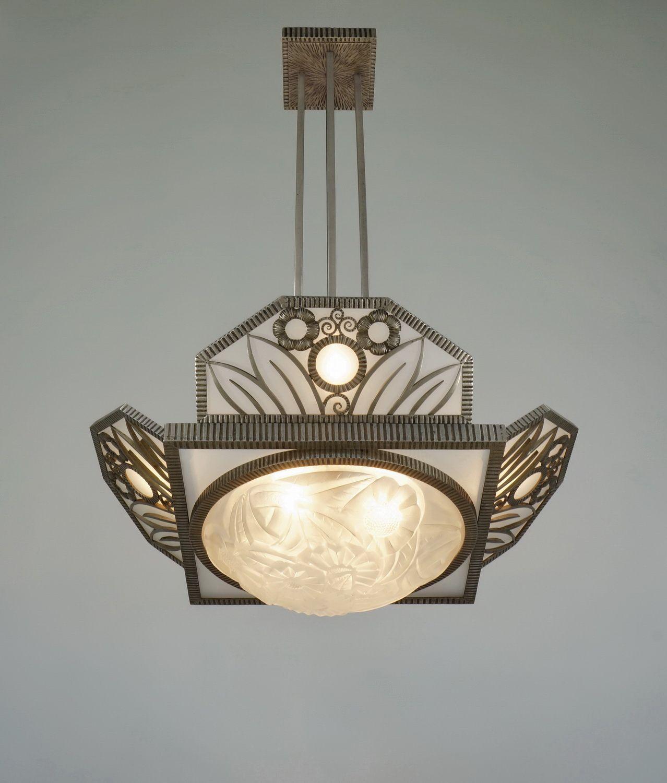 paravas art deco lighting offers degue 1930 chandelier luminaire art deco pinterest art. Black Bedroom Furniture Sets. Home Design Ideas
