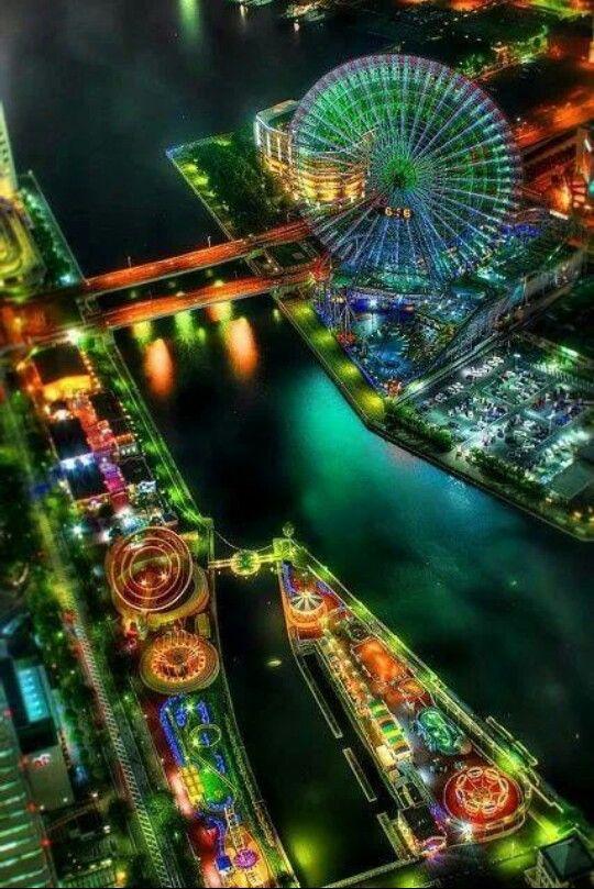 Nightscene of pretty lights