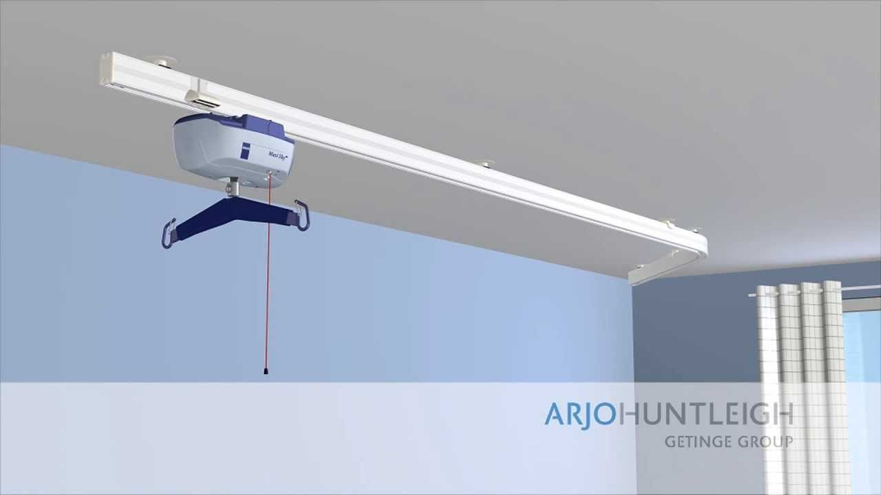 Installing Ceiling Track Hoists Video Guide Ceiling Lights Ceiling Installation