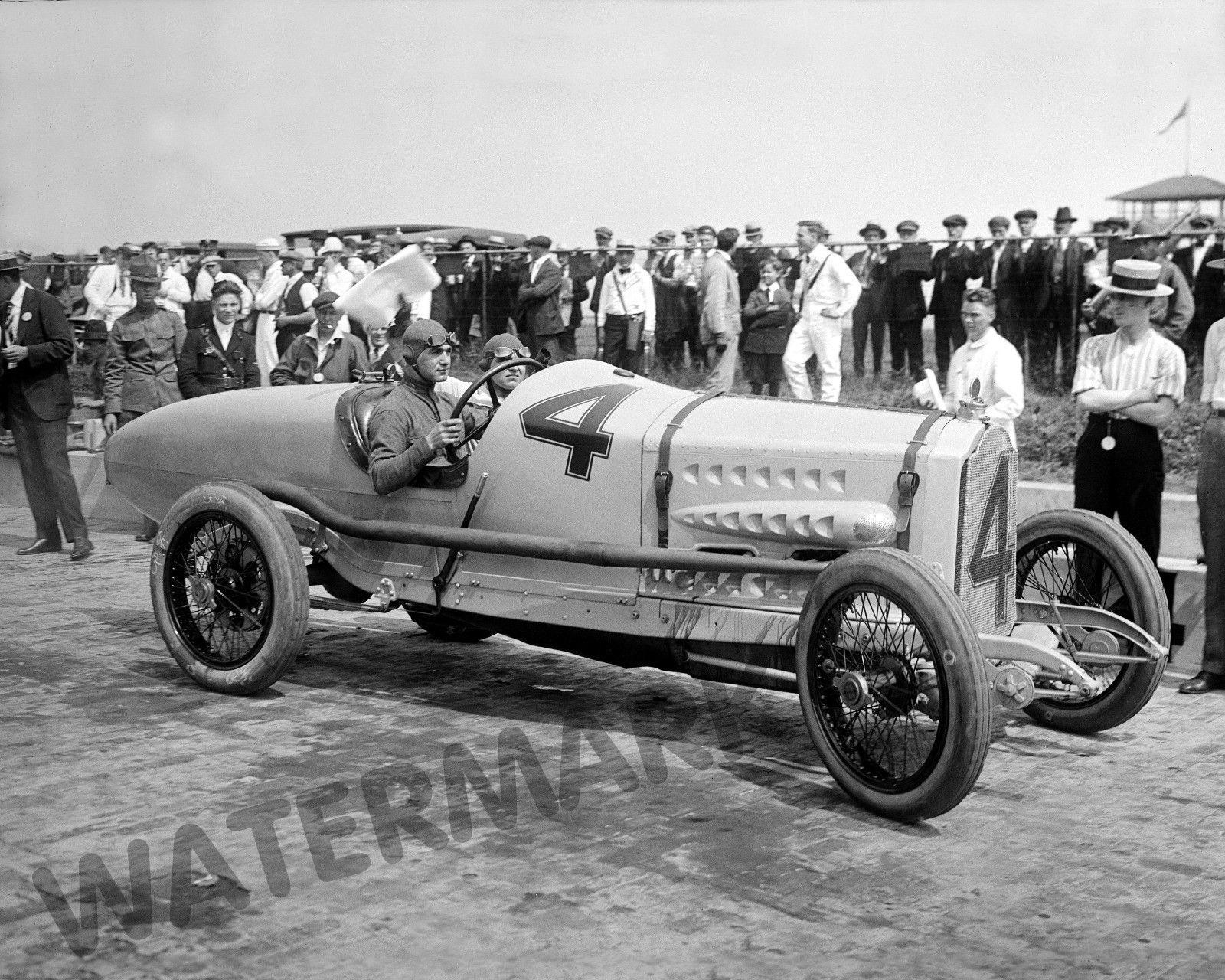 Photograph Vintage Image Indy Packard Race Car Ralph De Palma