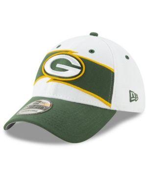 9cba30db416099 New Era Green Bay Packers Thanksgiving 39THIRTY Cap - Green/White S ...