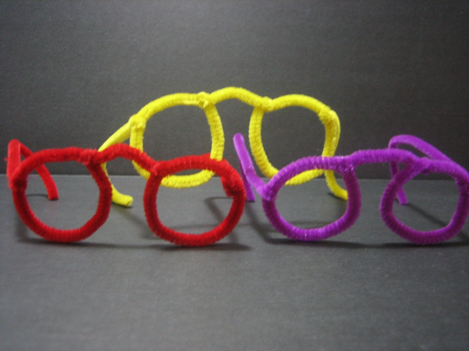 Gafas Con Limpiapipas Photo Crafts For Kids Pipe Cleaner Crafts