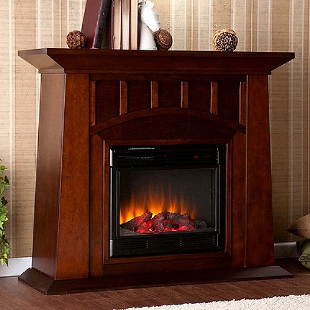 Mission Craftsman Espresso Electric Fireplace - Mission Craftsman Espresso Electric Fireplace For The Home