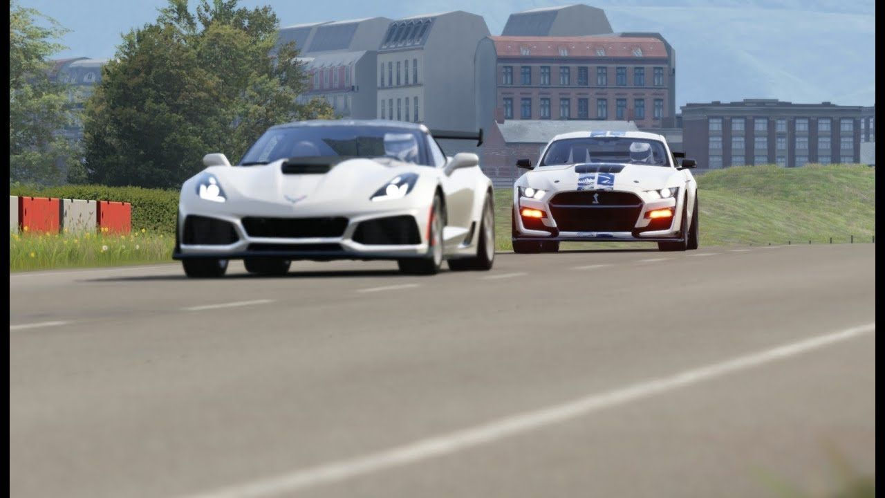 Ford Mustang Shelby Gt500 20 Vs Chevrolet Corvette C7 Zr1 19