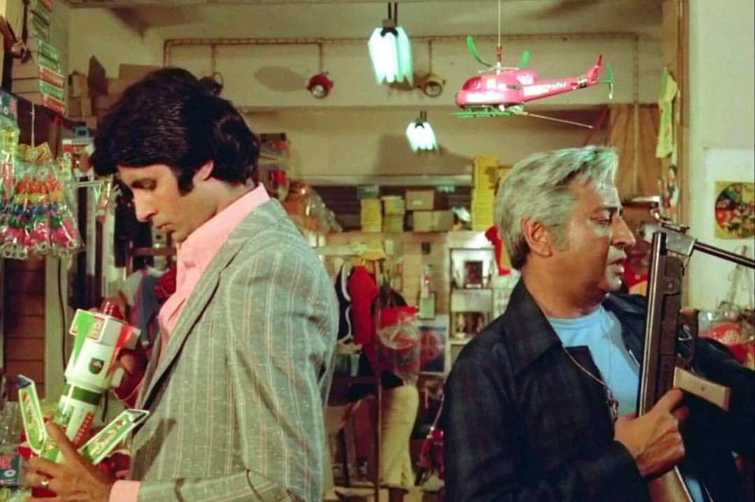 """1 Likes, 1 Comments - muvyz.com (@muvyz) on Instagram: """"#muvyz092017 #BollywoodFlashback #whichmuvyz #guessthemovie #AmitabhBachchan #Pran #muvyz #instapic…"""""""
