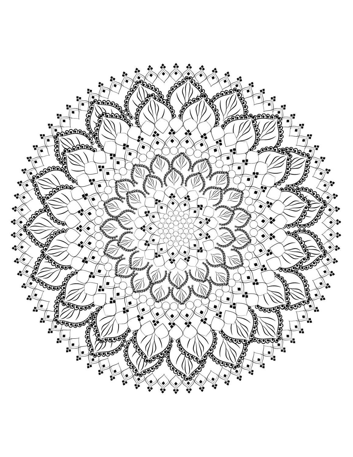 Mandala Coloring Pages Mandala Coloring Mandala Coloring