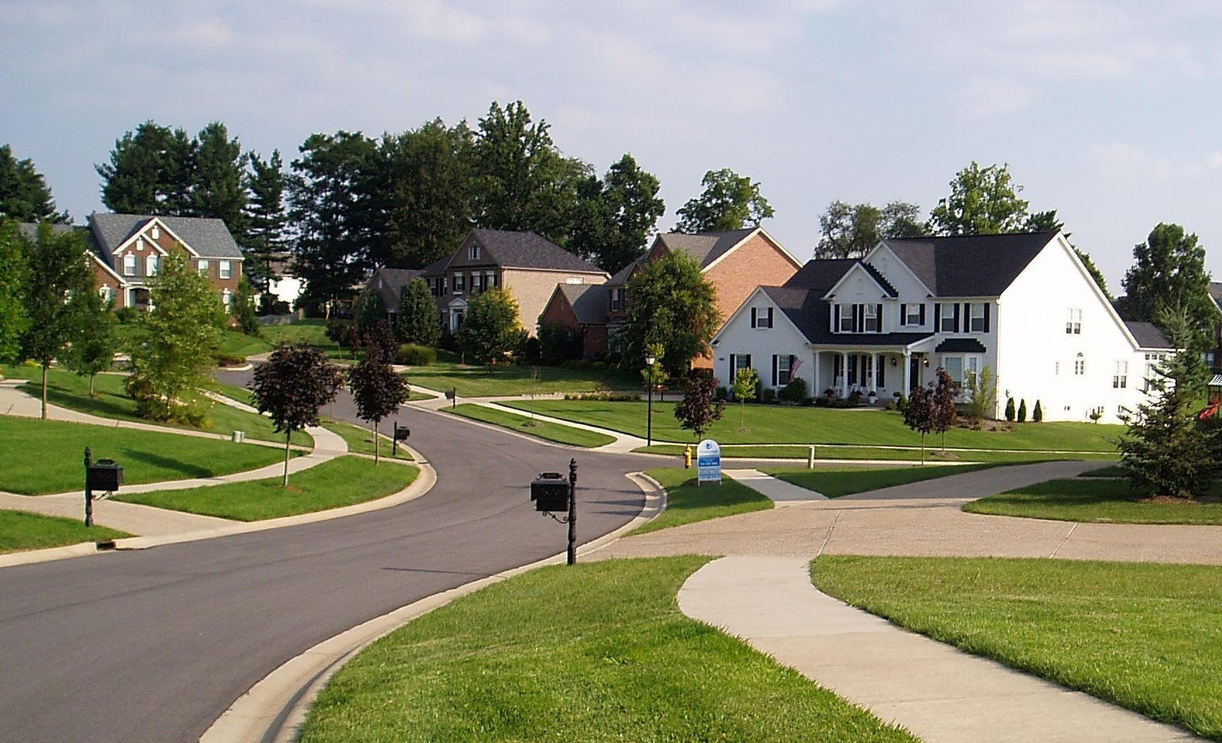 We live in a suburban neighborhood neighbors are all