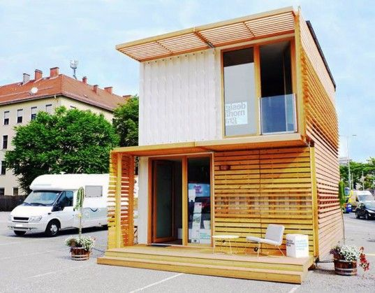 Commod House Containme Green Design Sustainable Shipping Container Recycled Cargotecture Building