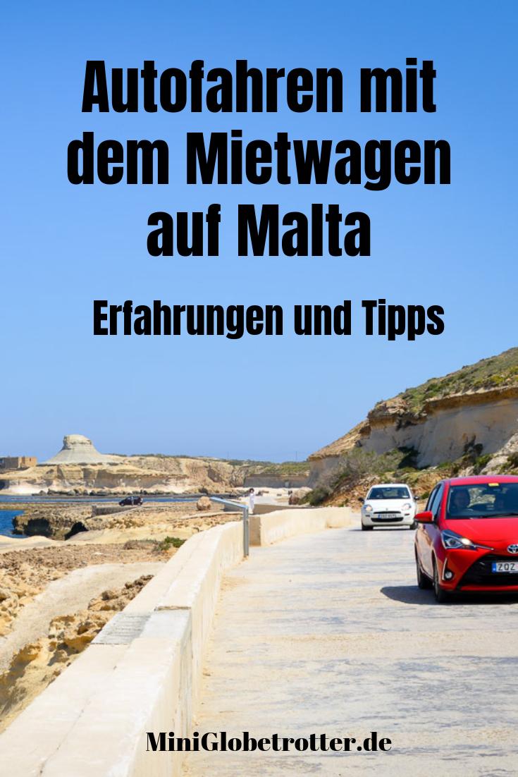 , Autofahren mit dem Mietwagen auf Malta: Erfahrungen und Tipps – Reiseblog Mini Globetrotter, Travel Couple, Travel Couple