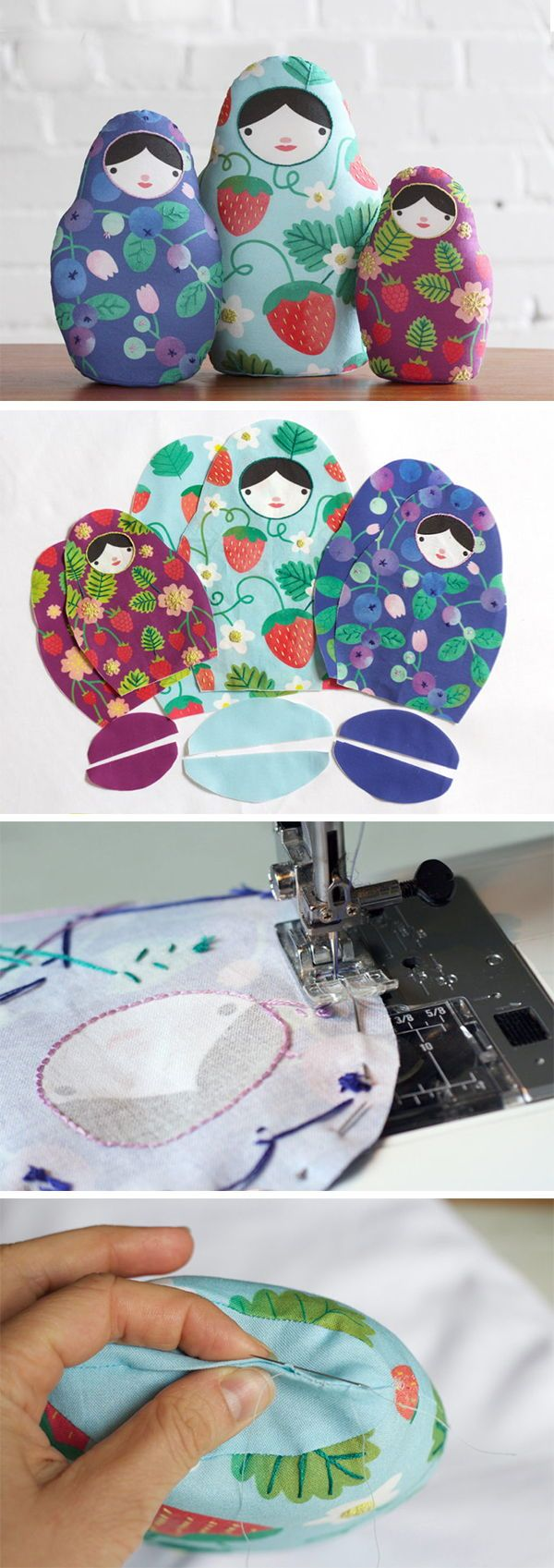 DIY Matryoshka Nesting Dolls - Just like the traditional ...