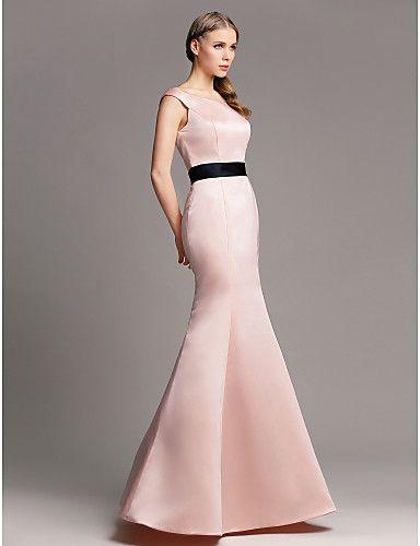 23c46fa04 Vestido Madrinha - Sereia  cor  rosa perolado