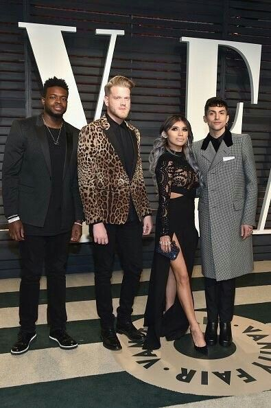 Vanity fair Oscar party so cuteeee | pentatonix | Pentatonix, Mitch
