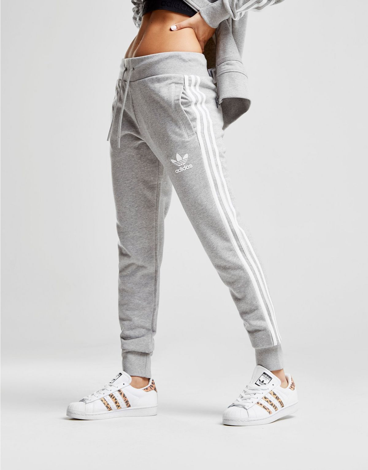 80566a42b426 adidas Originals 3-Stripes California Fleece Pants