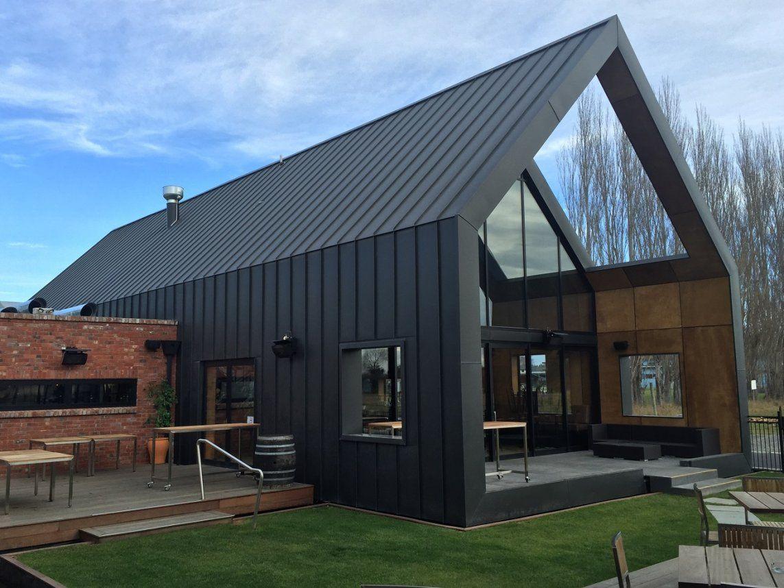 AnoMax Ultra Matt Grey Black Premium PreCoated Aluminium by Ambro Metals is part of Modern barn house -