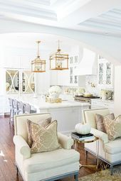 Photo of Family Room Makeover with A Well Dressed Home – Randi Garrett Design  Family Roo…