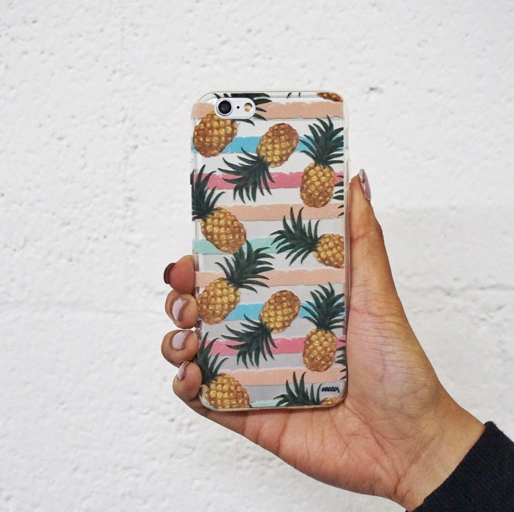 Summertime Pineapple - Clear TPU Case Cover – Milkyway