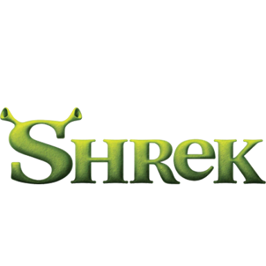 The Shrek Logo Uses First Type Then Colour Then Image Then Texture To Make Itself Unique Its Most Recognisable Feature Is Vinyl Figures Shrek Movie Titles