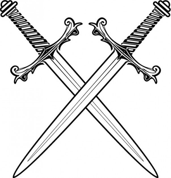 Line Drawing Software Free Download : Sword vectors photos and psd files free download