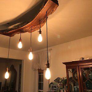16 - 20 Lámpara de Tubo de Acero Industrial De La Plaza Ligera