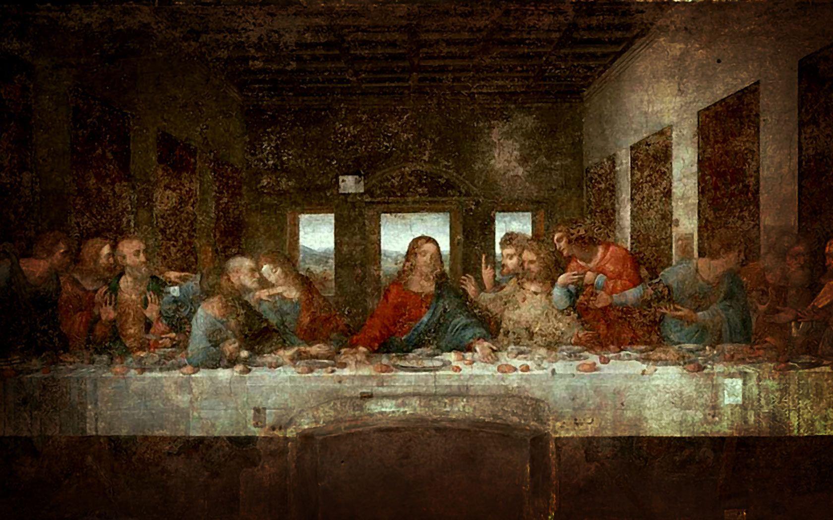 A Ultima Ceia De Leonardo Da Vinci Em Milao Con Imagenes Arte