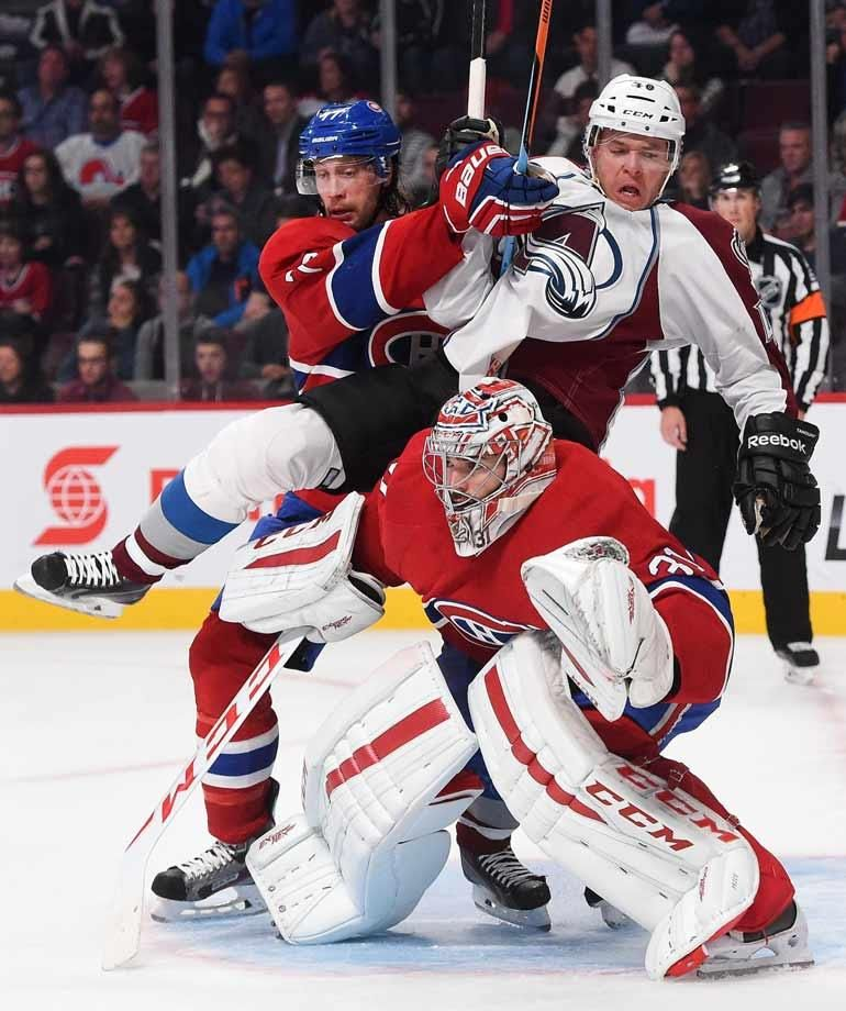 Snap Shots Nhl Season S Early Action Nhl Season Hockey Goalie Montreal Canadiens Hockey
