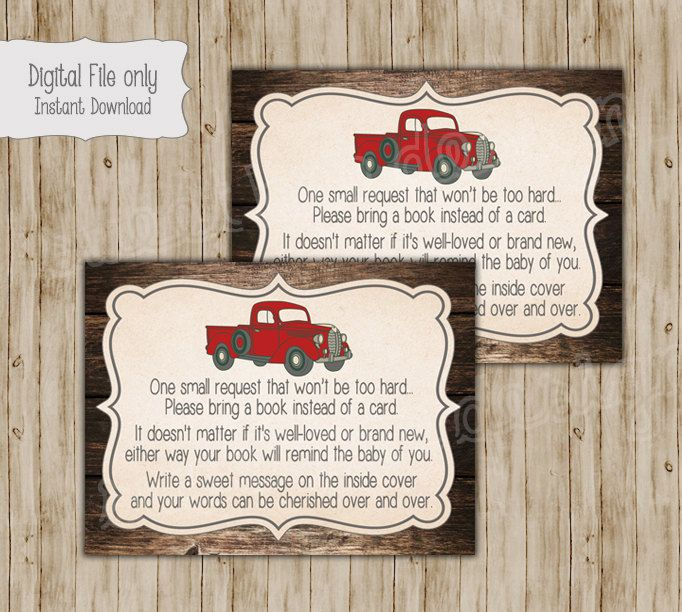 Vintage truck baby shower invitation rustic wood baby shower retro vintage truck baby shower invitation rustic wood baby shower retro baby boy shower invite custom printable all information including color filmwisefo Image collections