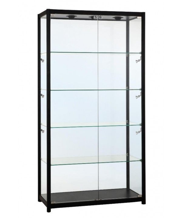 800mm Aluminium Gl Display Cabinet