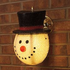 So Cute Snowman Porch Light Cover For The Holidays Winter Current Catalog Unique Christmas Decorations Porch Light Covers Christmas Decorations