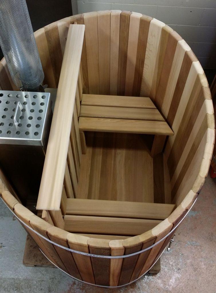 WOODFIRED Ellipse 2 Person Cedar Hot Tub Cedar hot tub