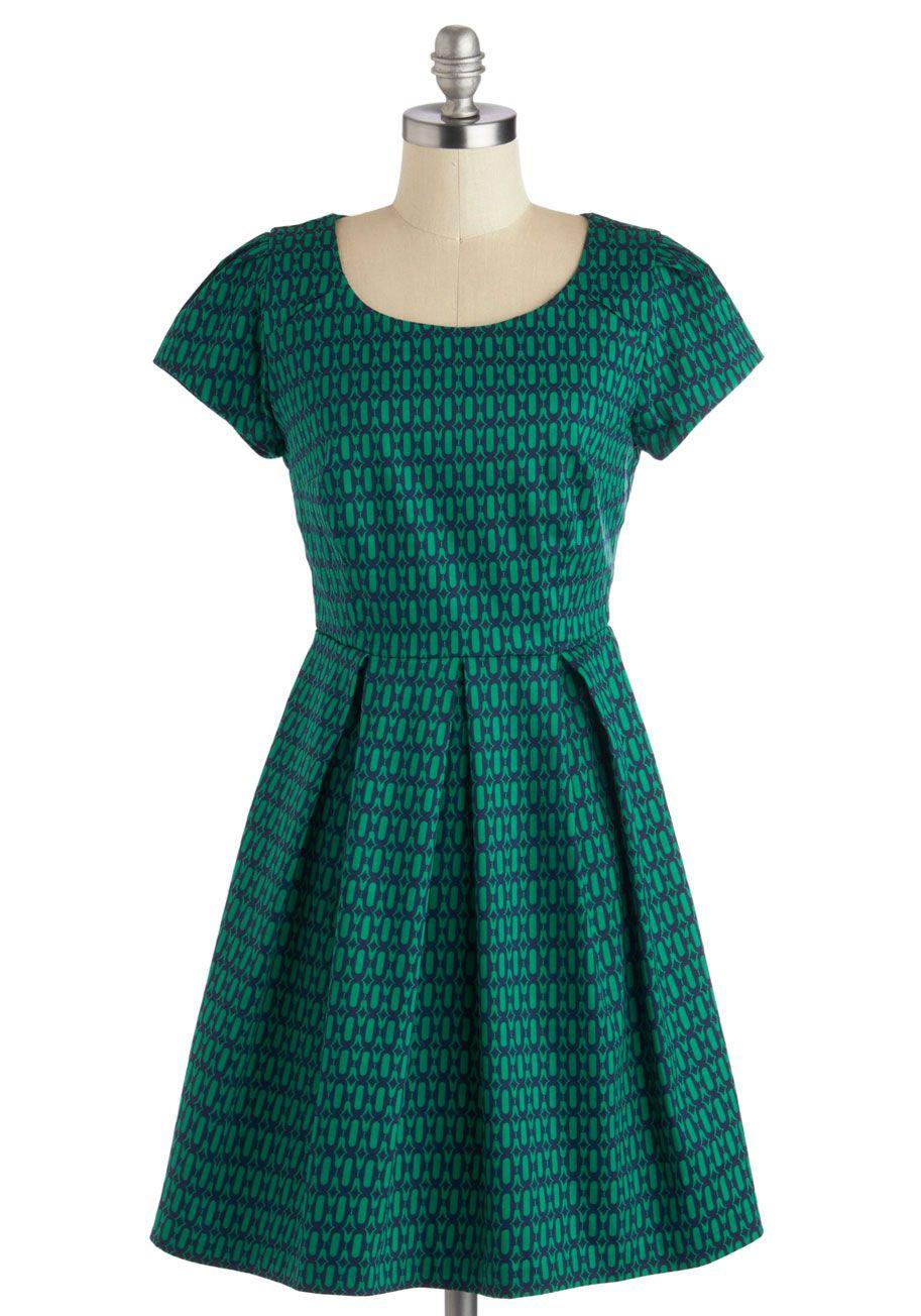 Cozy Plaid Sweater Dress | ModCloth, Printing and Vintage dresses