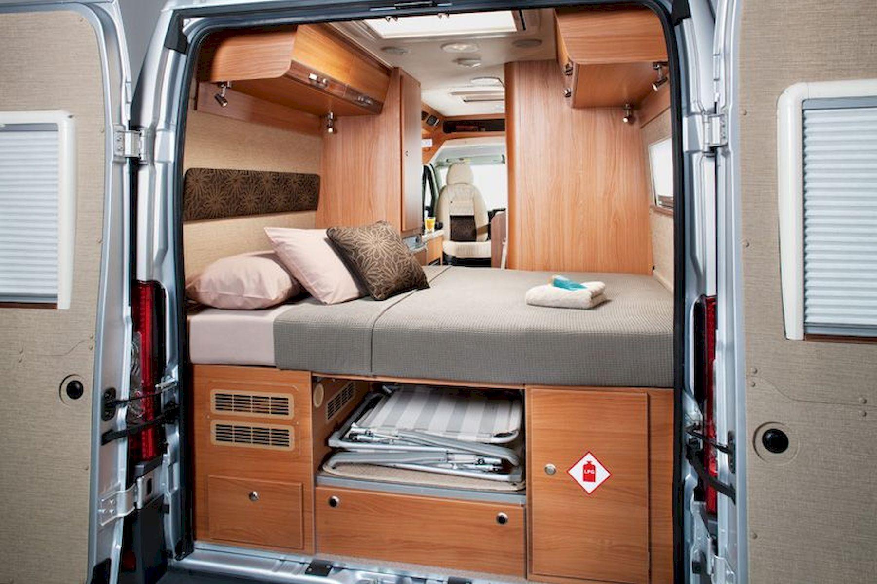 The Perfect Way Campervan Interior Design Ideas (65