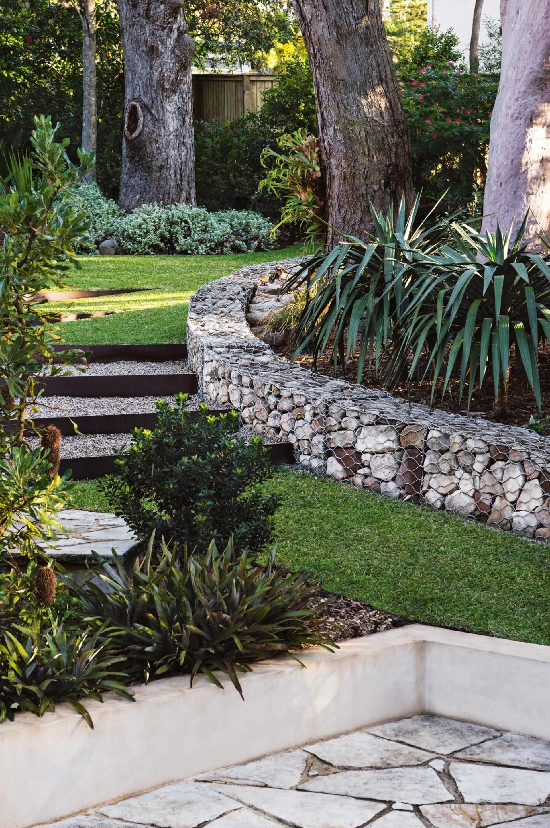 A Textually Layered Garden On The Central Coast Of NSW
