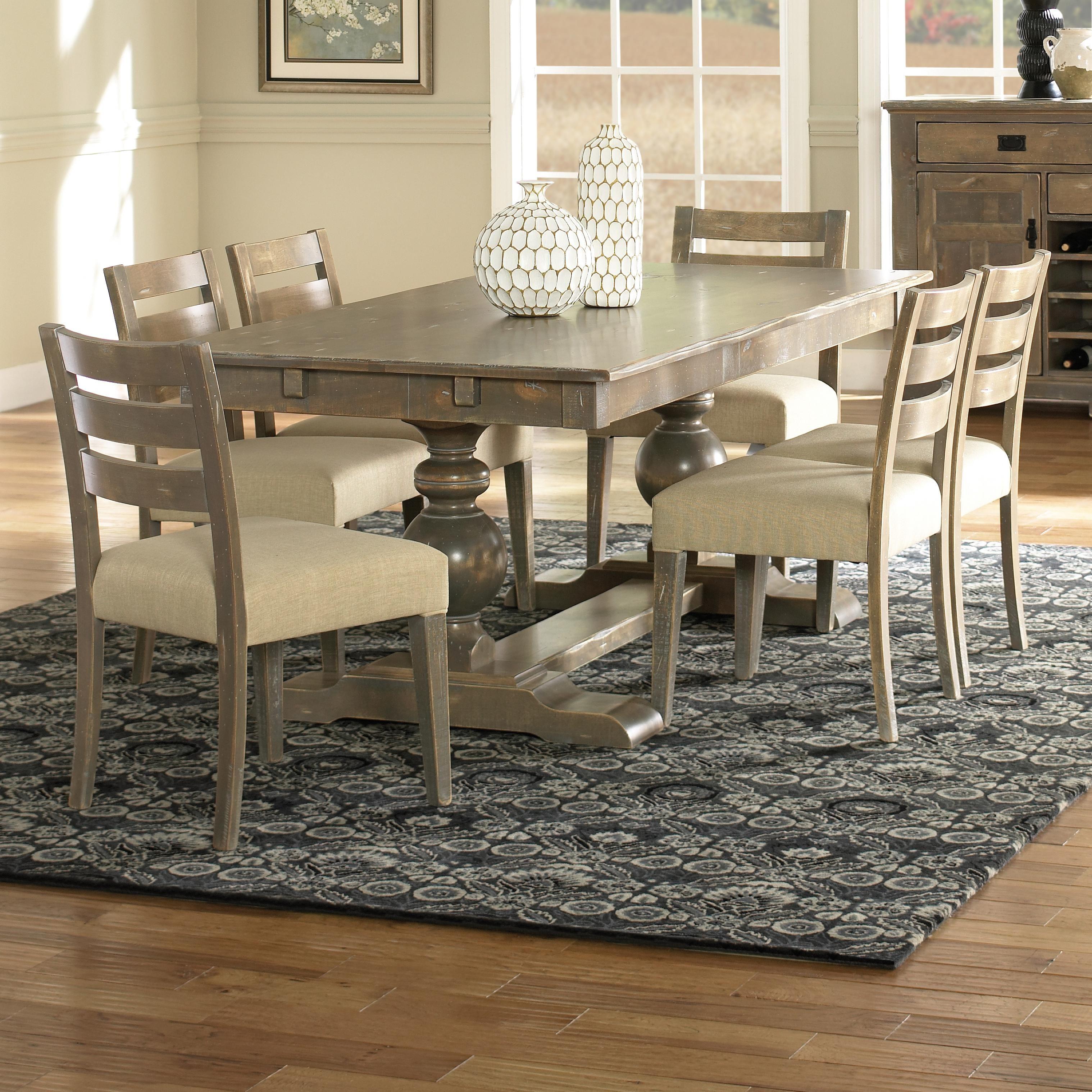 Champlain Custom Dining b Customizable b Rectangular Table Set