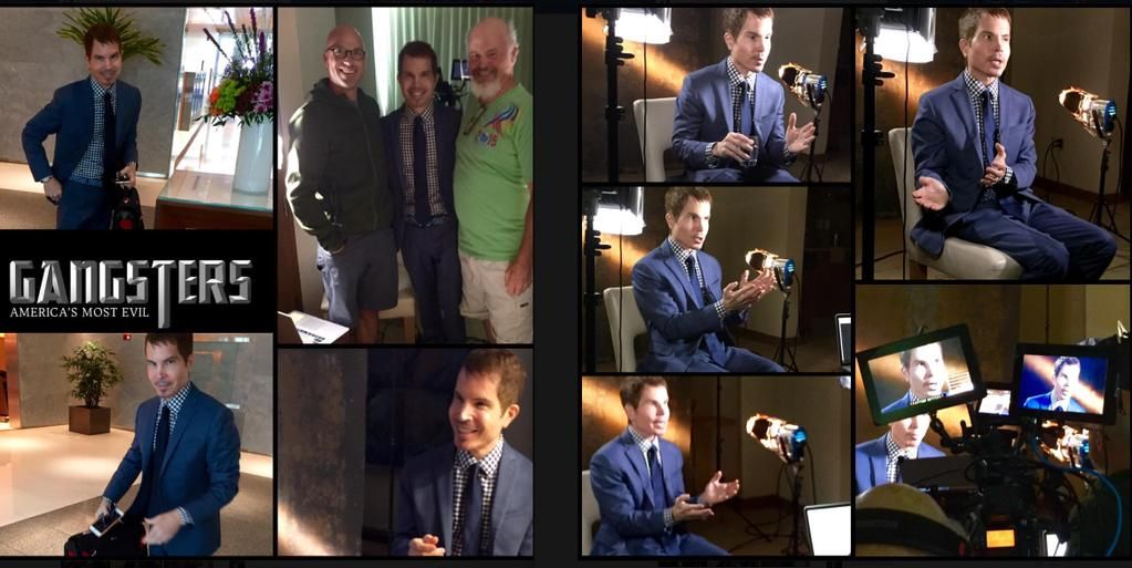 Lots of fun yesterday taping a few episodes for the upcoming