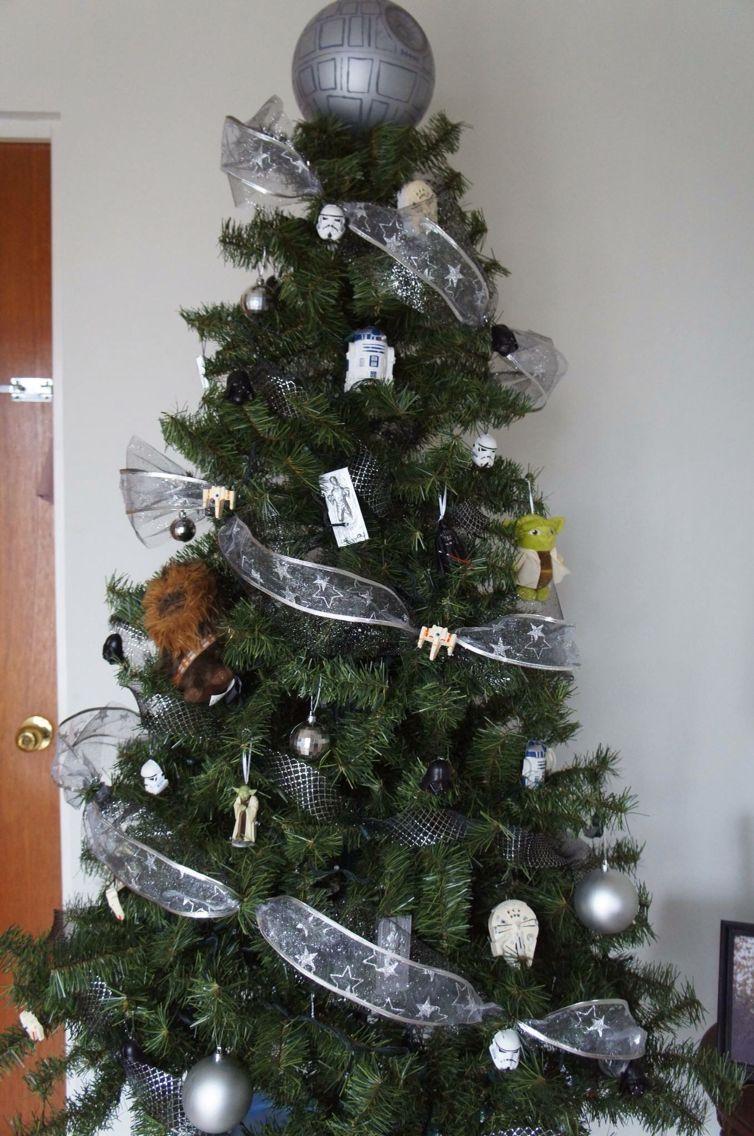 Star Wars Christmas Tree Decoration Arbol De Navidad Tema Star